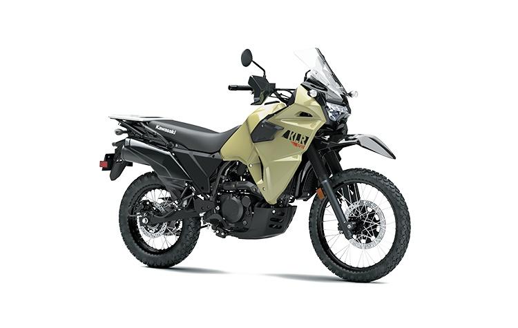 Kawasaki KLR650 Kaki Sable Nouveau 2022