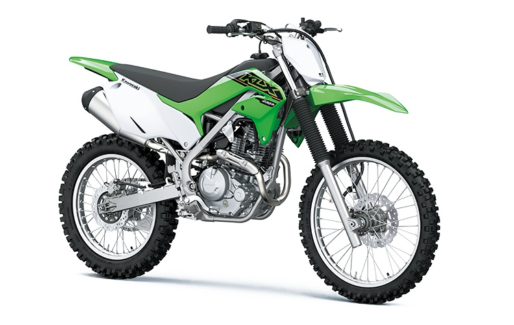 2021 Kawasaki KLX230R Lime Green