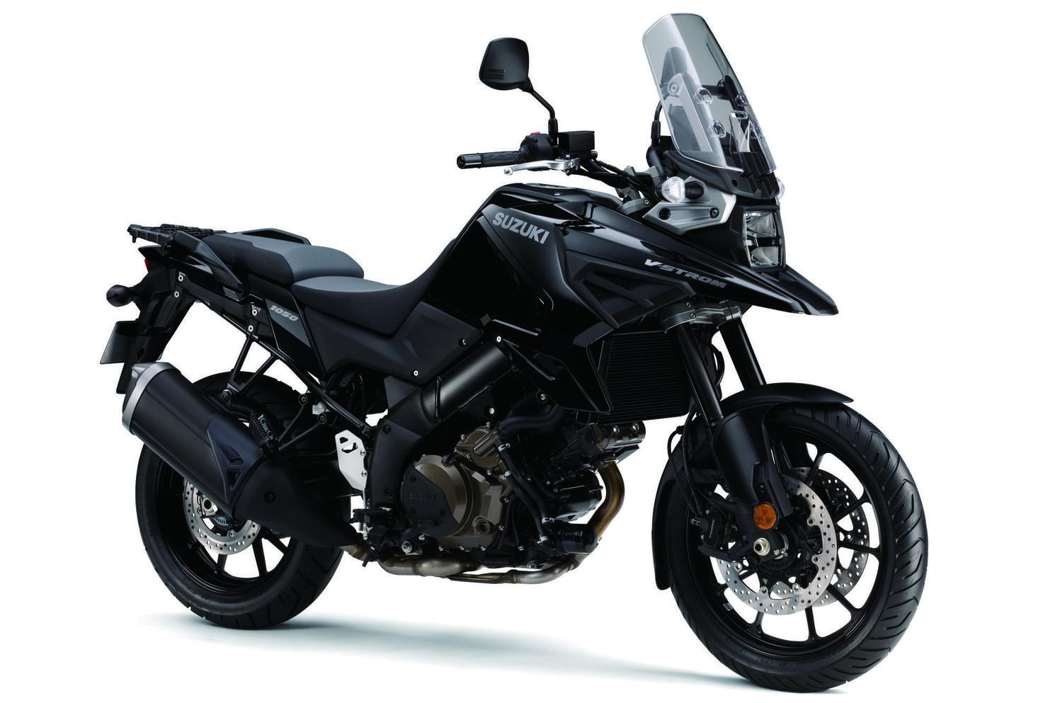 Suzuki V-Strom 1050A Noir Lustré Scintillant 2021