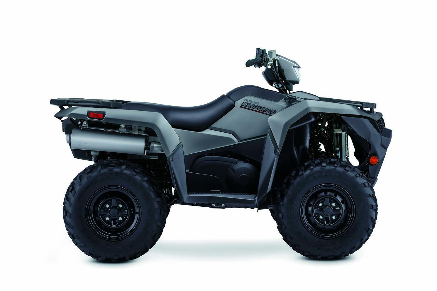 Suzuki KingQuad 500XP Grise Matte 2021