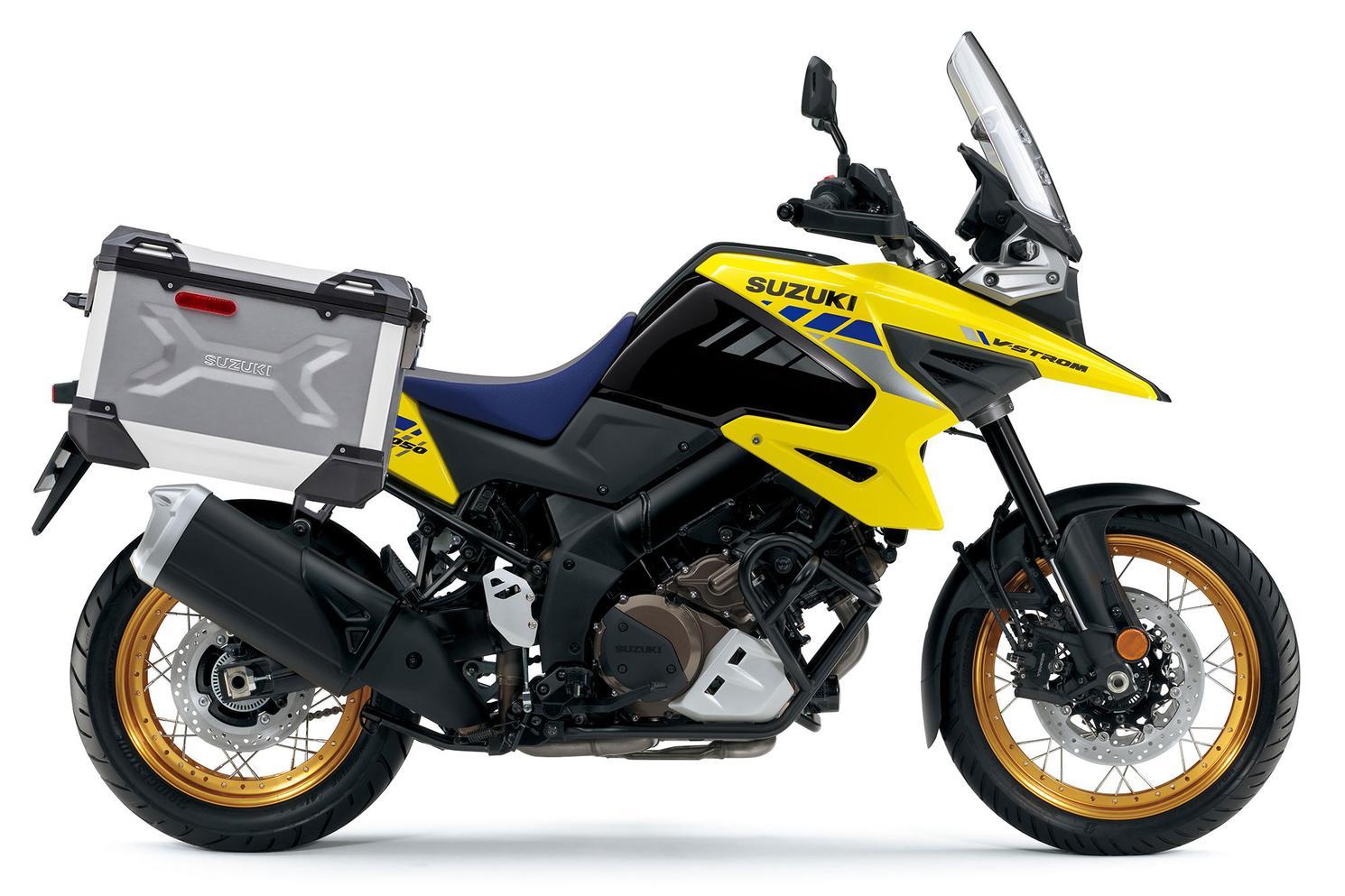 Suzuki V-Strom 1050XA ADVENTURE Jaune Champion / Noir Lustré Scintillant 2021