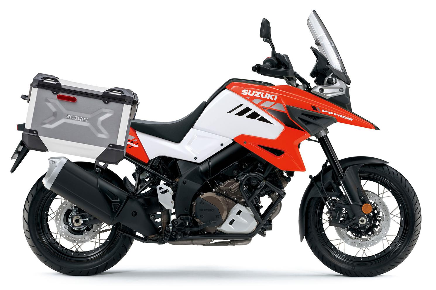 Suzuki V-Strom 1050XA ADVENTURE Blanc Perle Brillant / Orange Flambé Lustré 2021