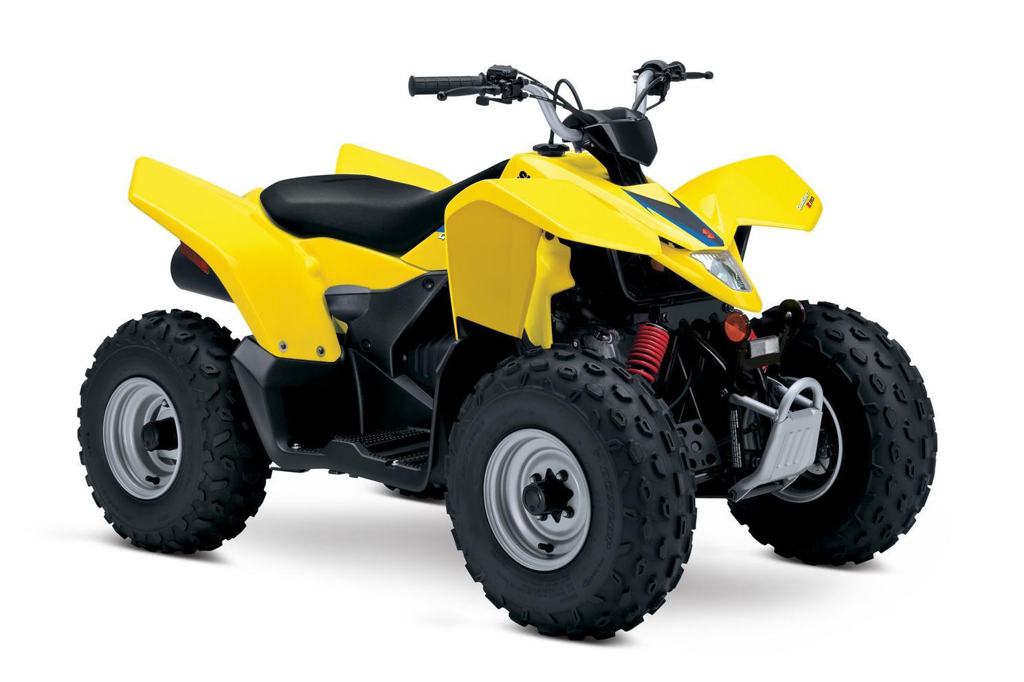 Suzuki QuadSport Z90 Champion Yellow No 2 2021