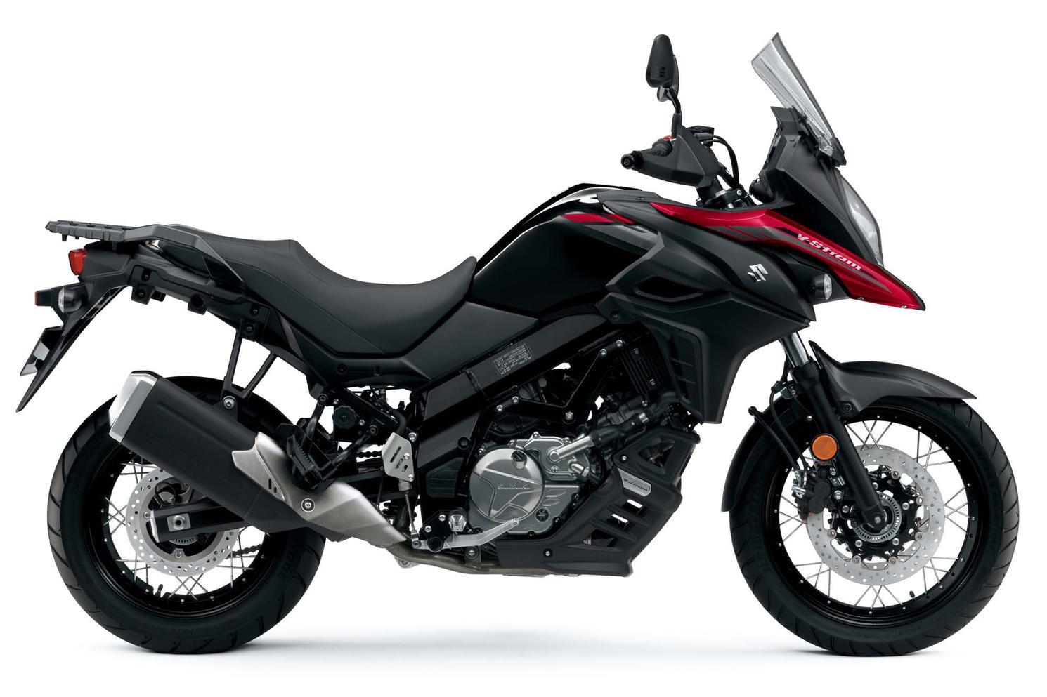 Suzuki V-Strom 650XA Rouge Éclatant Lustré 2021