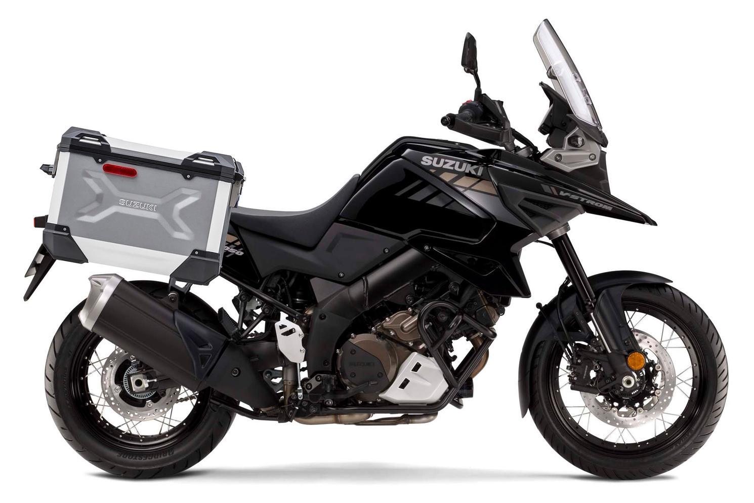 Suzuki V-Strom 1050XA ADVENTURE Gris Ombragé Metallique / Noir Lustré Scintillant 2021