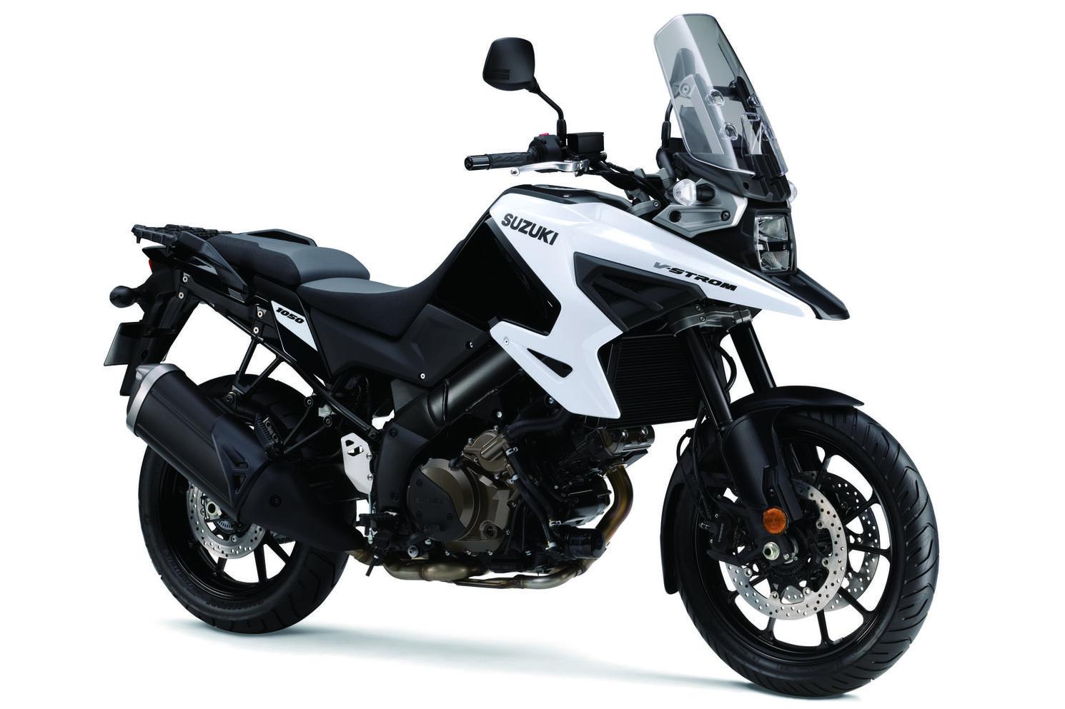 2020 Suzuki V-Strom 1050A Glass Sparkle Black/Pearl Brilliant White