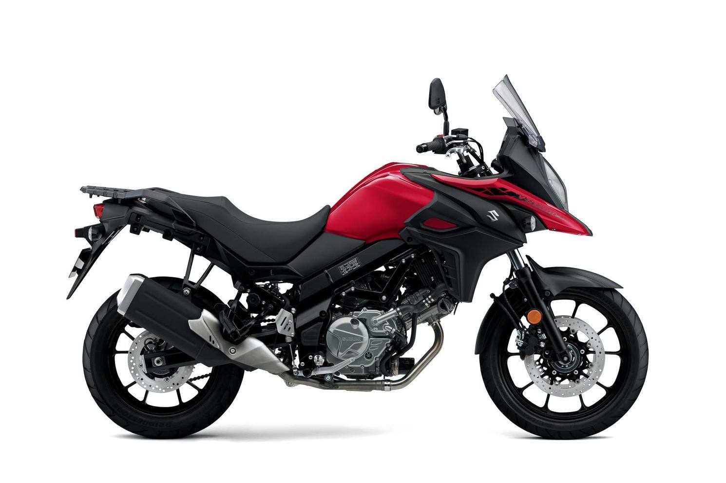 Suzuki V-Strom 650A Rouge Éclatant Lustré 2021