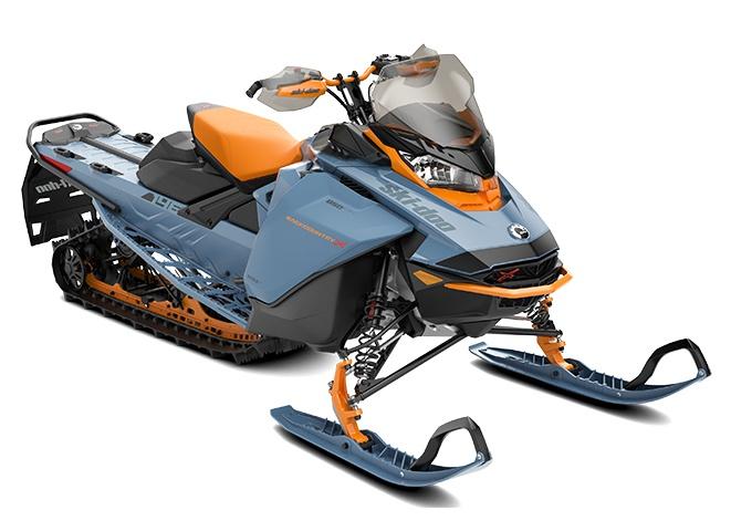 2022 Ski-Doo Backcountry X Scandinavian Blue / Orange Crush