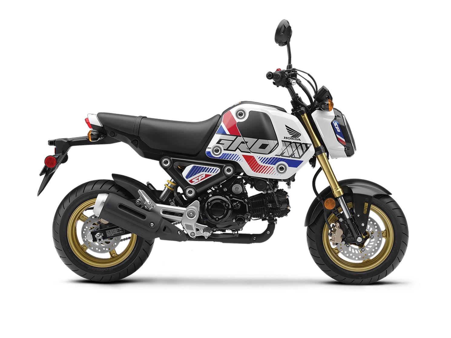Honda Grom ABS Blanc Horizon Nacré (Tricolore) 2022