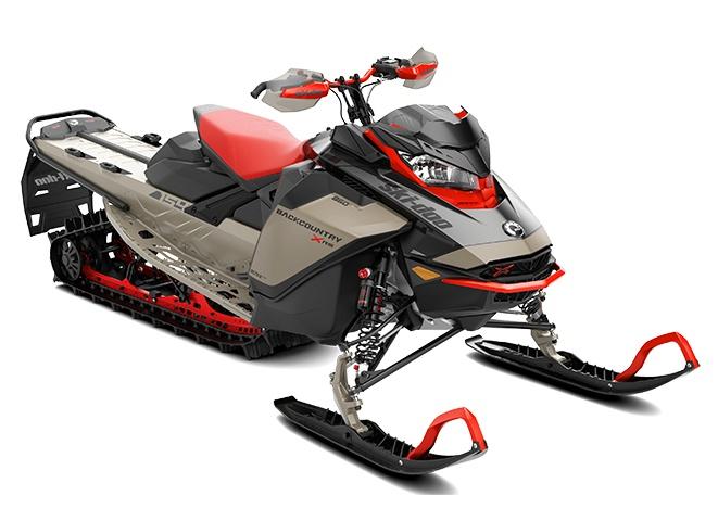 2022 Ski-Doo Backcountry X-RS Ultimate Liquid Titanium / Carbon Black
