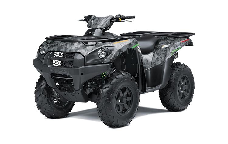2022 Kawasaki BRUTE FORCE 750 4x4i EPS Fragment Camo Gray