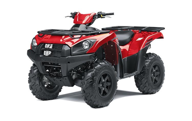 2022 Kawasaki BRUTE FORCE 750 4x4i Firecracker Red