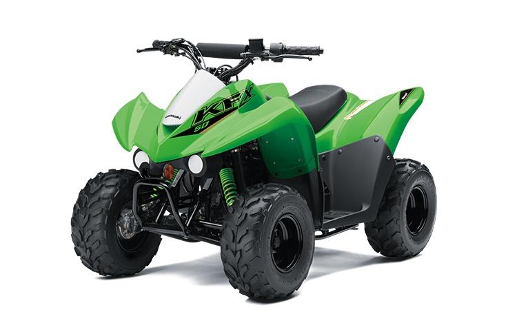 Kawasaki KFX50 Vert Lime 2022