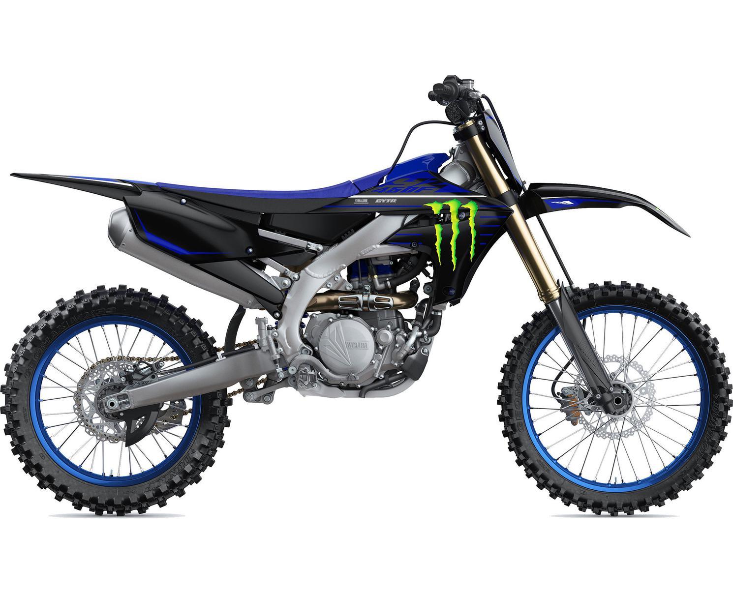 Yamaha YZ450F Motif Monster Energy Yamaha Racing 2022