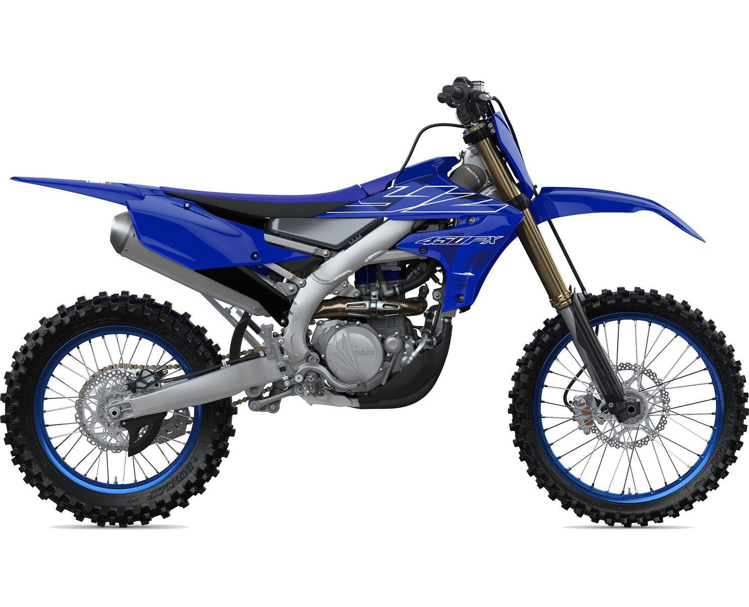 Yamaha YZ450FX Bleu Team Yamaha 2022