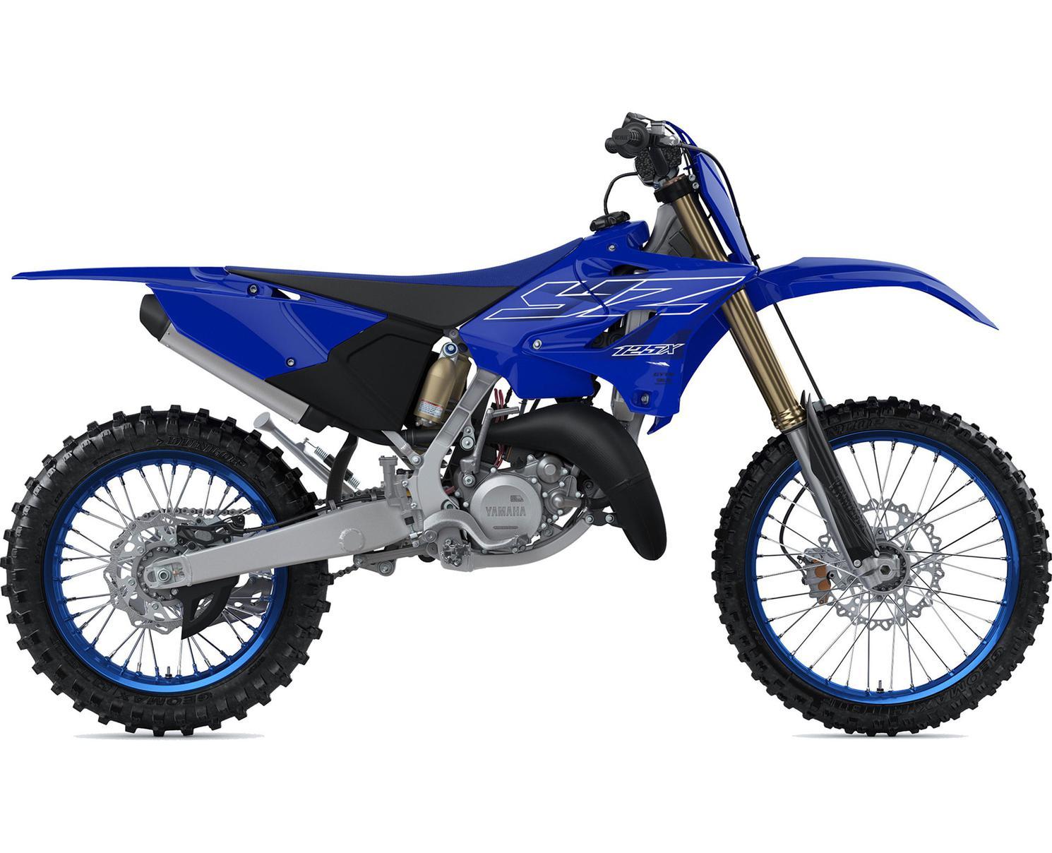 Yamaha YZ125X Bleu Team Yamaha 2022