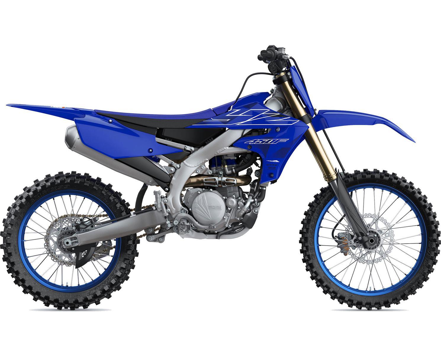 Yamaha YZ450F Bleu Team Yamaha 2022