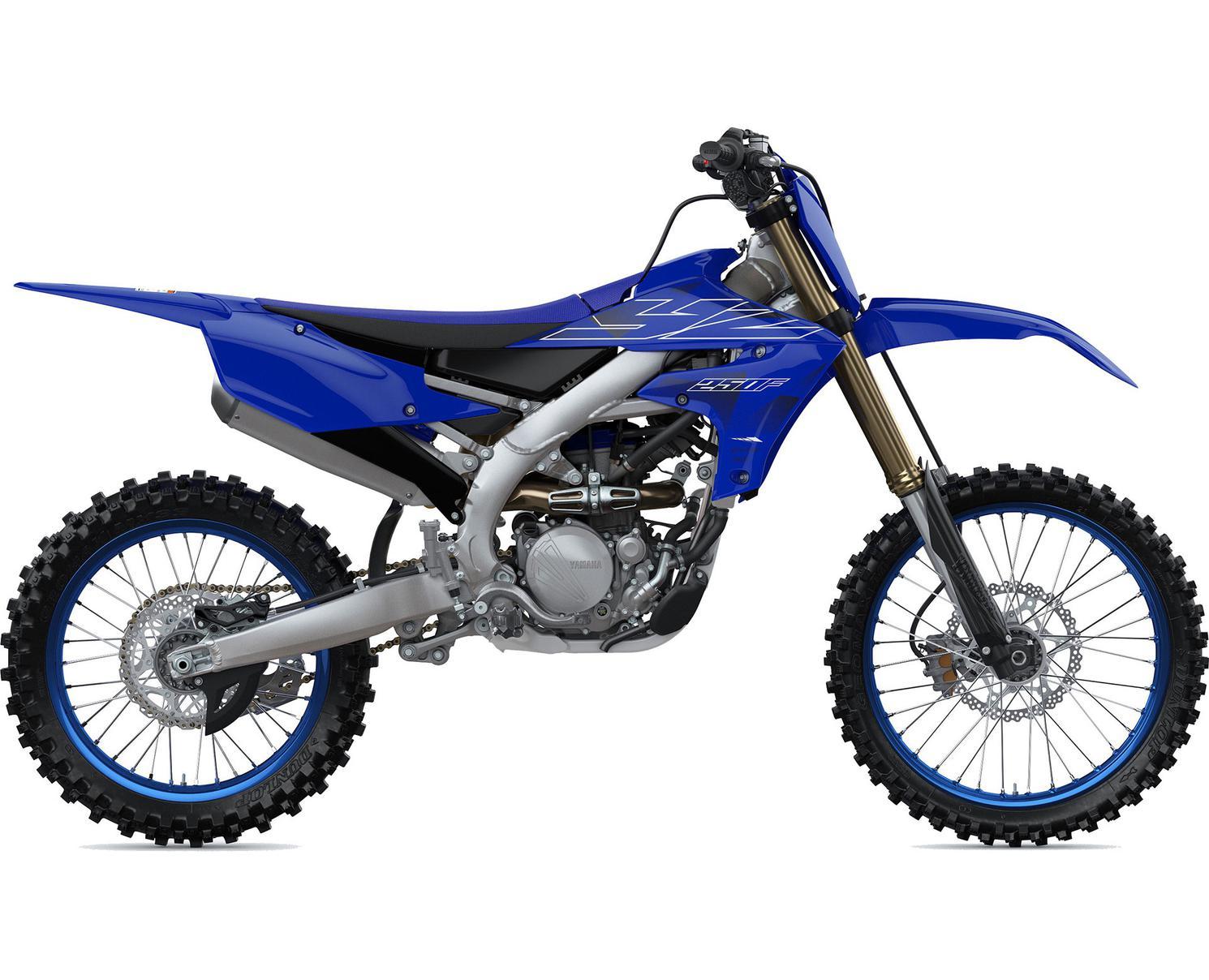 Yamaha YZ250F Bleu Team Yamaha 2022