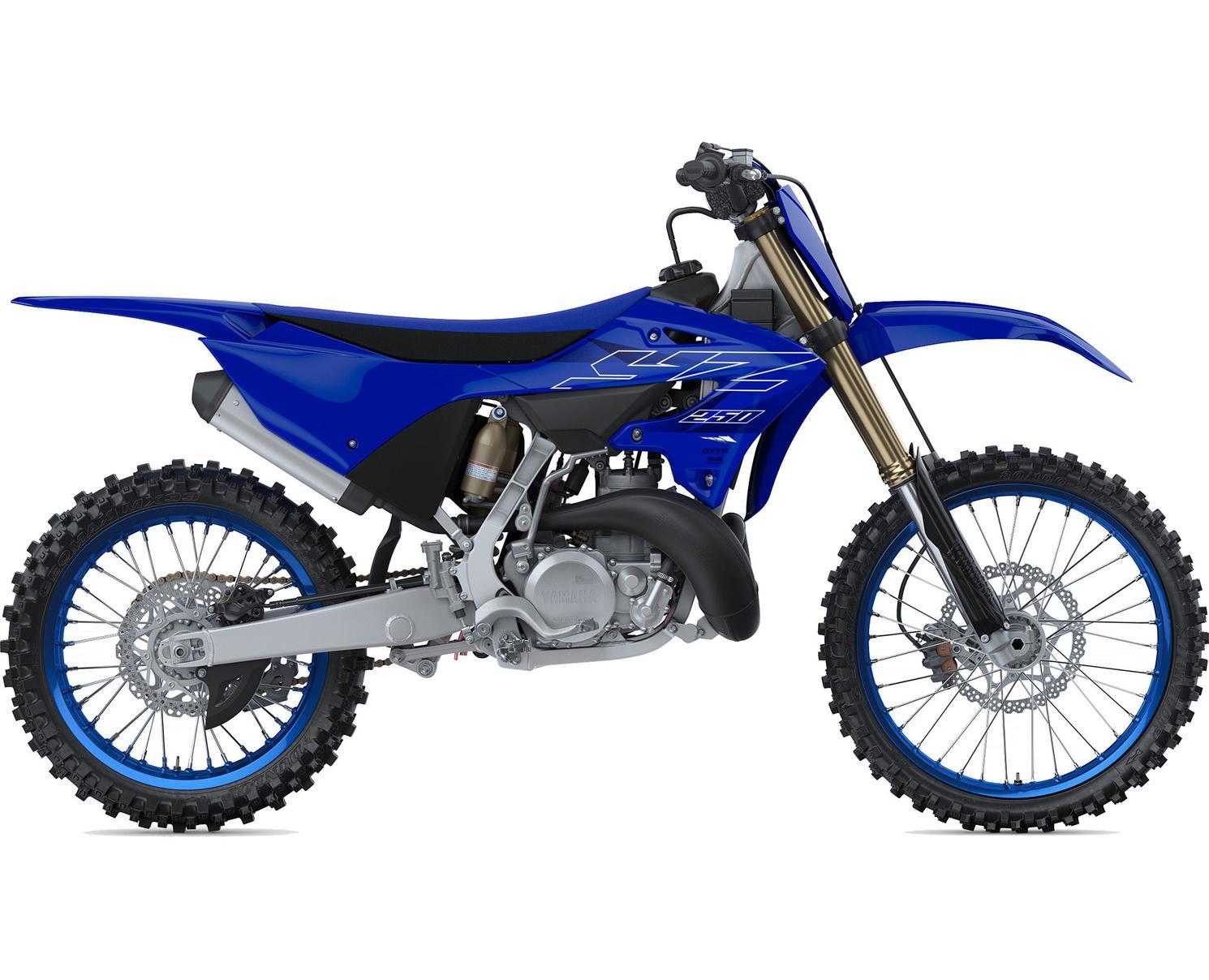 Yamaha YZ250 Bleu Team Yamaha 2022