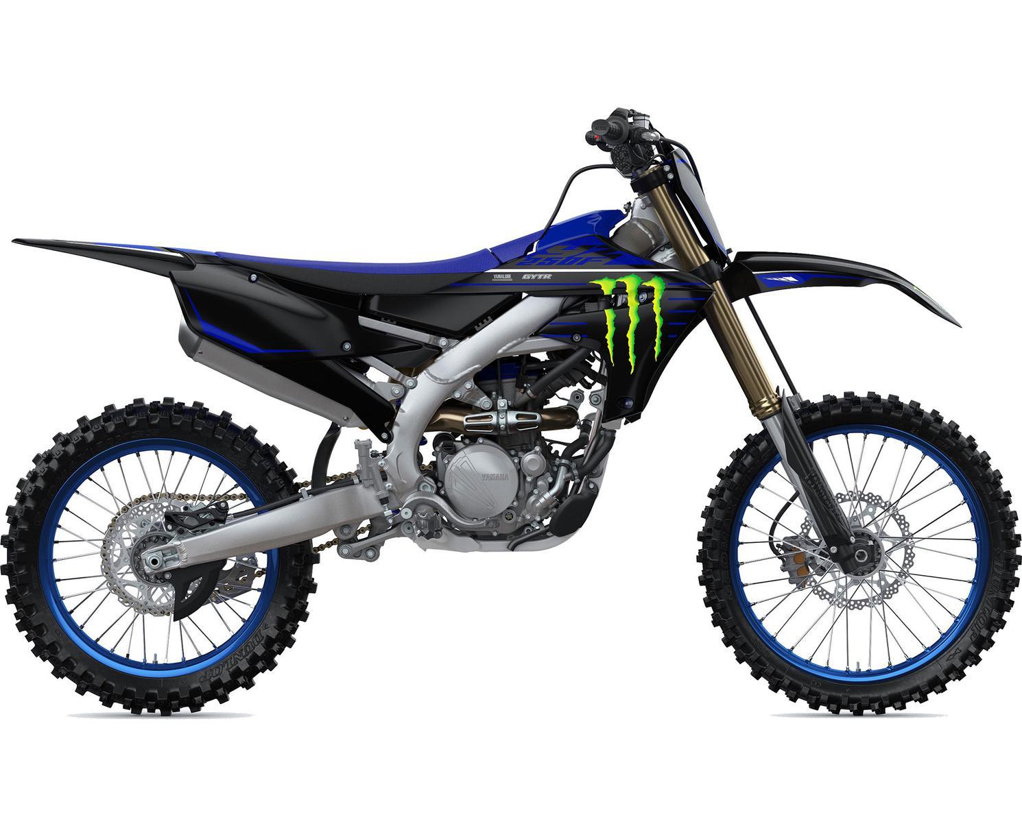 2022 Yamaha YZ250F Monster Energy Yamaha Racing Edition