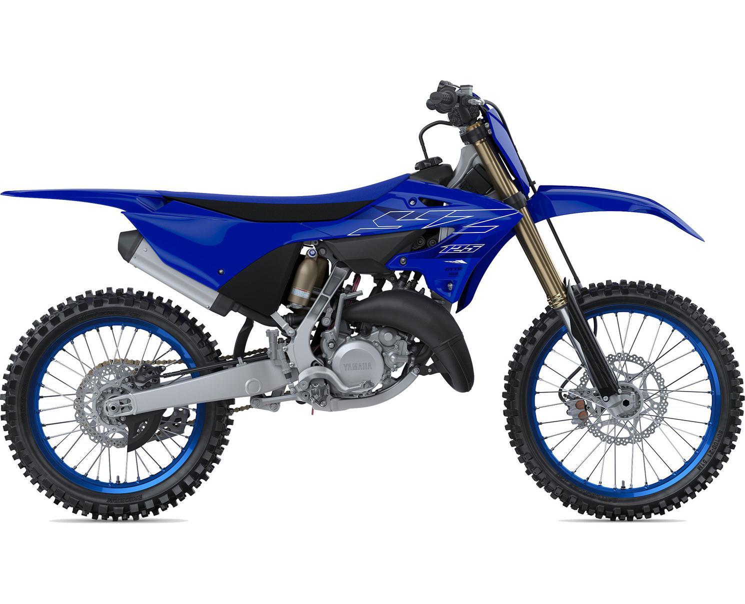 Yamaha YZ125 Bleu Team Yamaha 2022