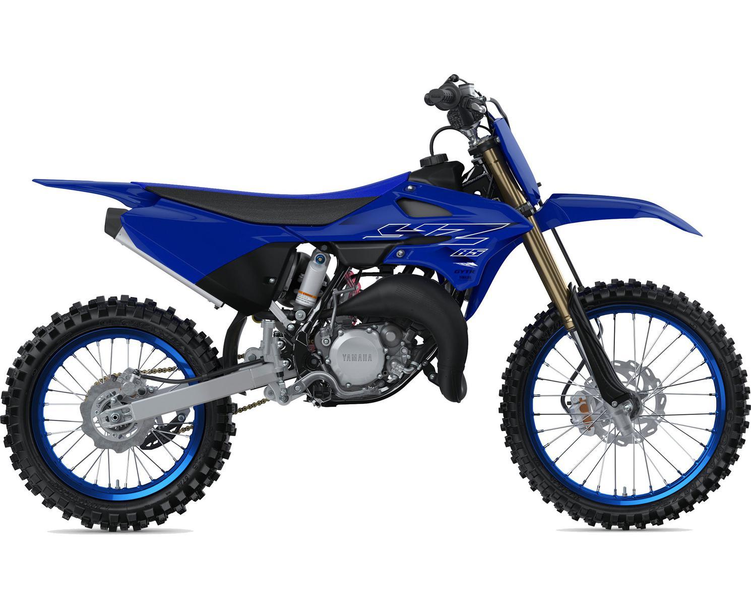 Yamaha YZ85 LW Bleu Team Yamaha 2022