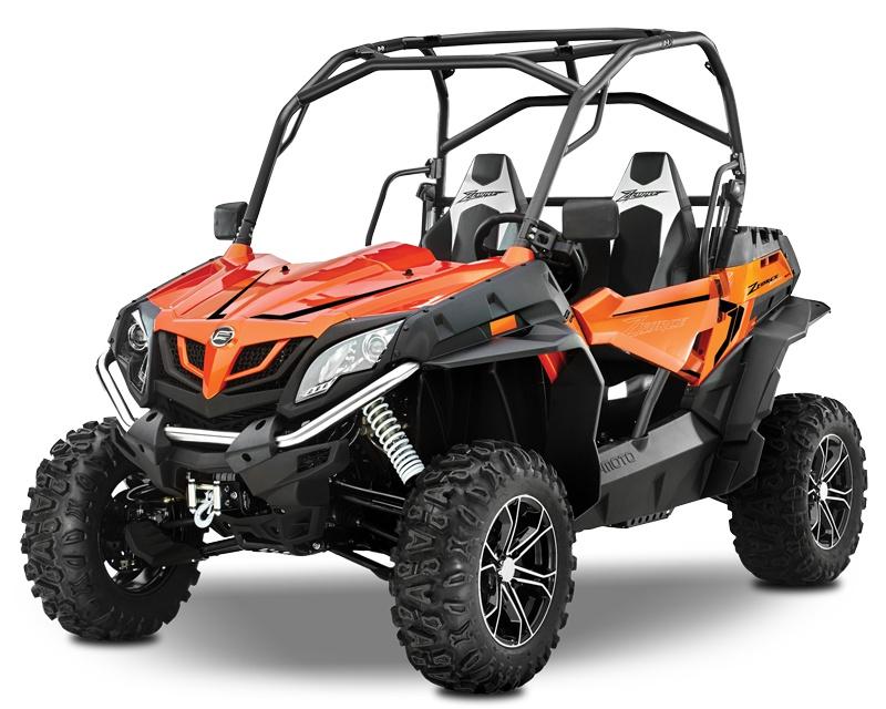 CFMOTO ZFORCE 800 EX EPS LX Orange Lava 2021