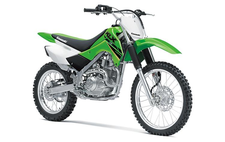 2022 Kawasaki KLX140R L Lime Green