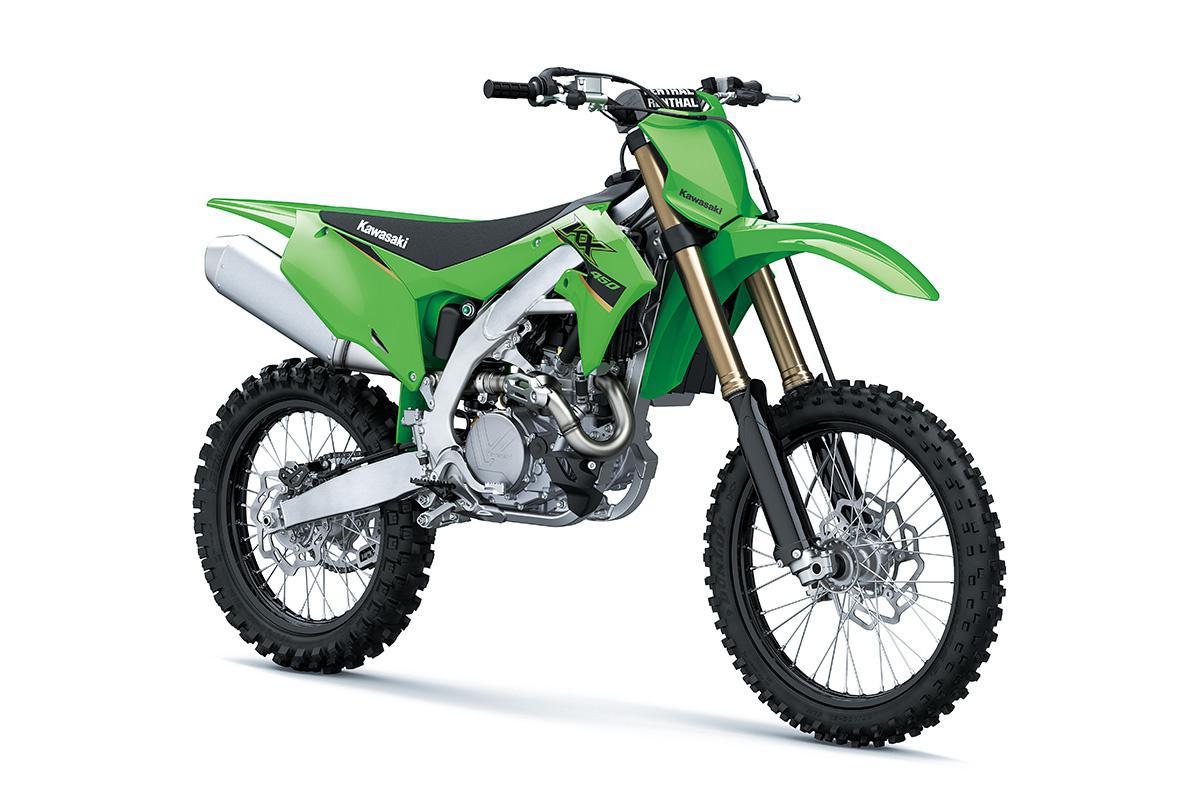 Kawasaki KX450 Vert Lime 2022