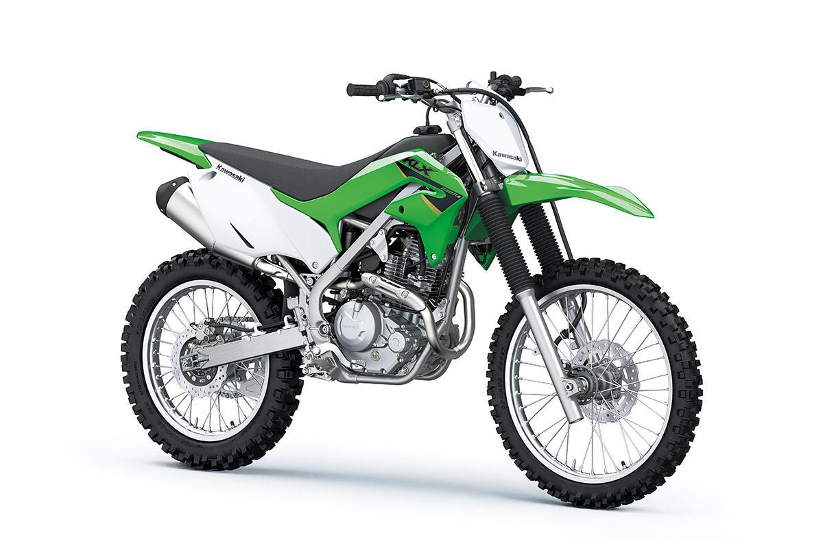 2022 Kawasaki KLX230R S Lime Green