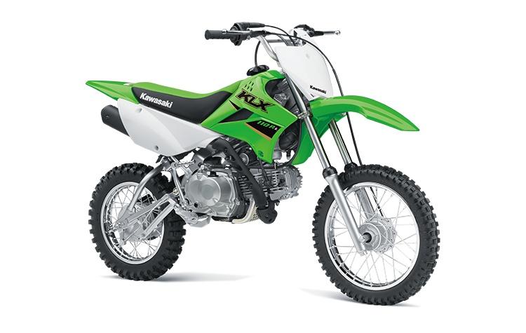 Kawasaki KLX110R L Vert Lime 2022