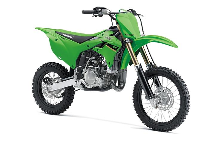 2022 Kawasaki KX85 Lime Green