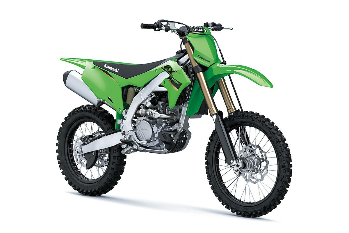2022 Kawasaki KX250X Lime Green