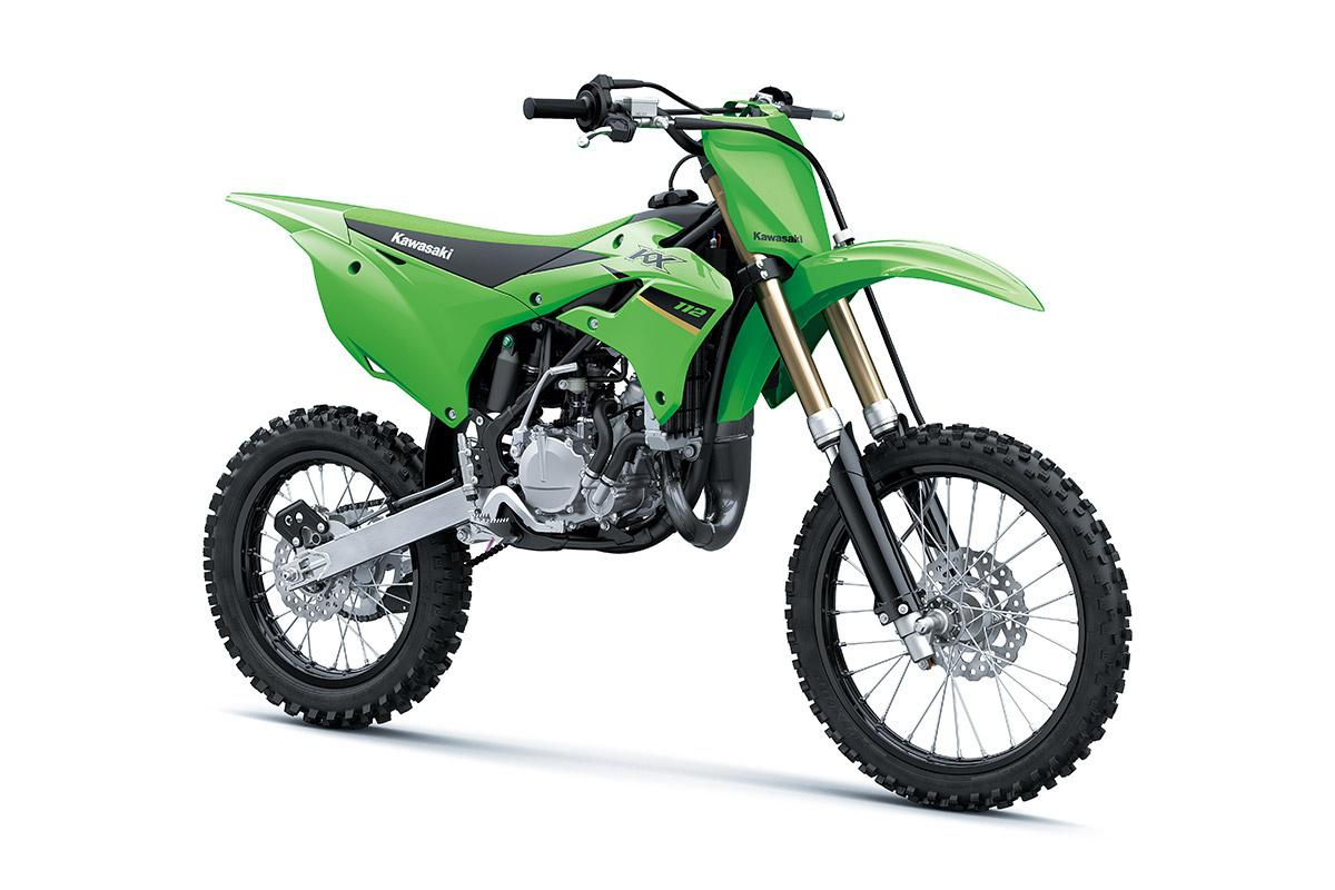 Kawasaki KX112 Vert Lime 2022
