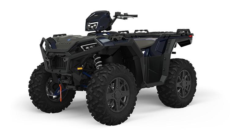 2022 Polaris Sportsman XP 1000 Ride Command Edition Azure Crystal