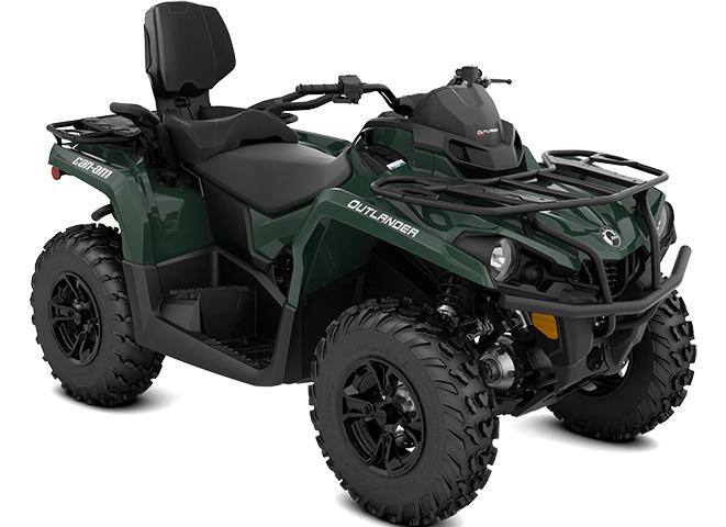 2022 Can-Am Outlander MAX DPS 570 Tundra Green
