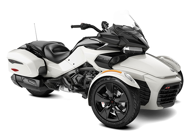 2022 Can-Am Spyder F3-T Pearl White