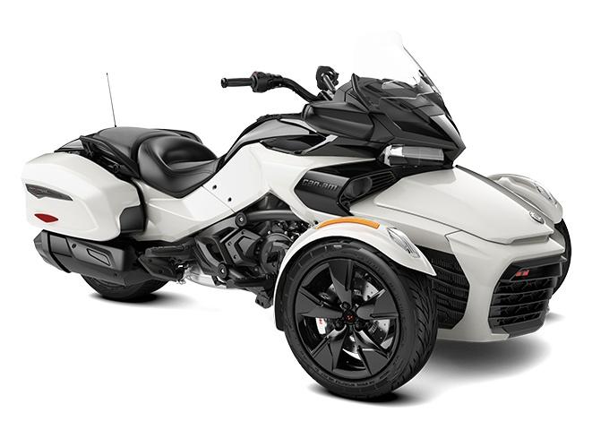 Can-Am Spyder F3-T Blanc Perlé 2022