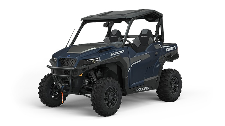 2022 Polaris GENERAL 1000 Deluxe Ride Command Edition Steel Blue