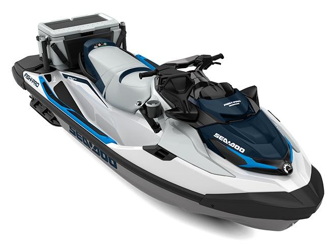 Sea-Doo Fish Pro Sport 170 Blanc/Bleu Océan 2022