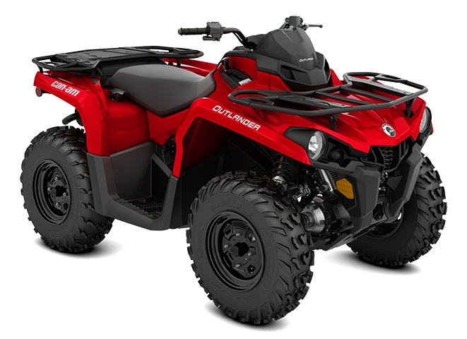 2022 Can-Am Outlander 450 Viper Red