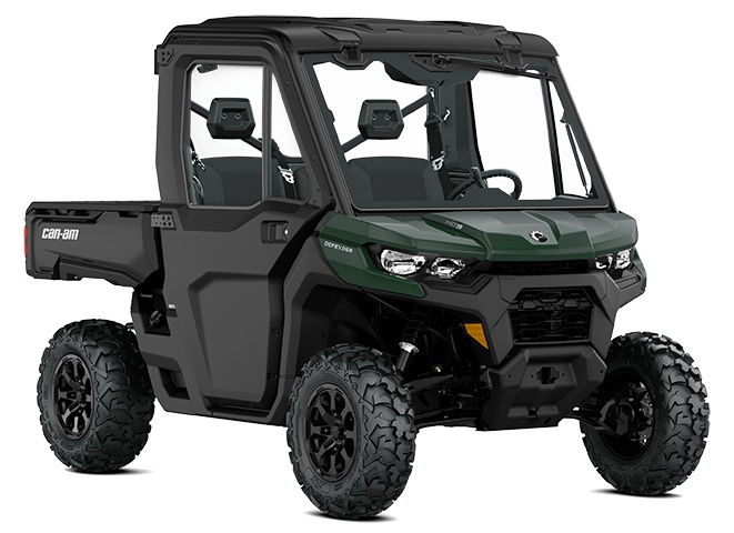 2022 Can-Am Defender DPS Cab Tundra Green
