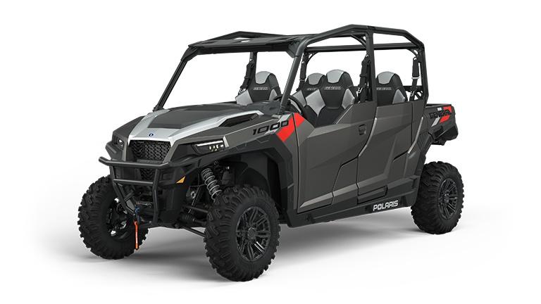 Polaris GENERAL 4 1000 Premium Titanium Metallic 2022