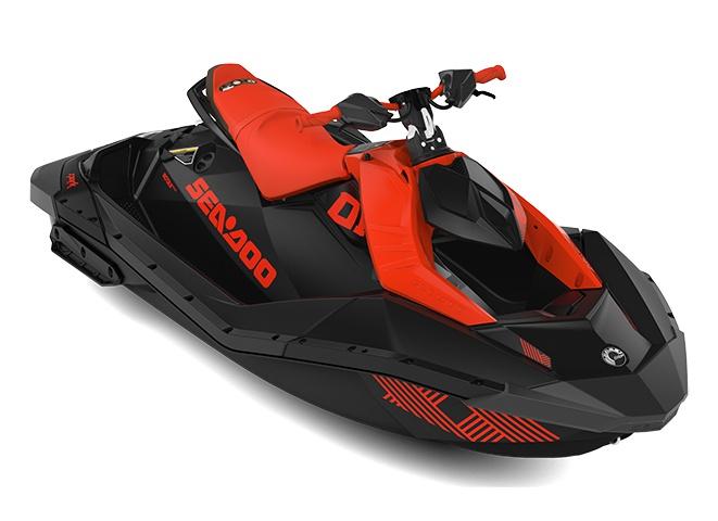 2022 Sea-Doo Spark Trixx 2 up Lava Red/Deep Black