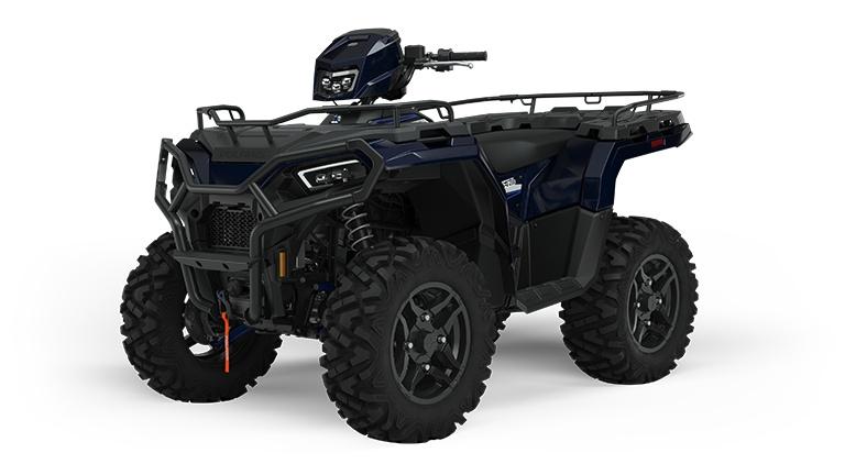 Polaris Sportsman 570 Ride Command Edition Azure Crystal 2022
