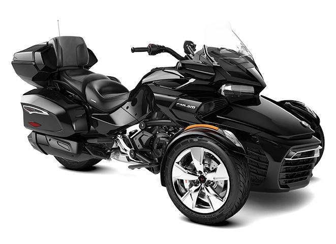 2022 Can-Am Spyder F3 Limited Steel Black Metallic