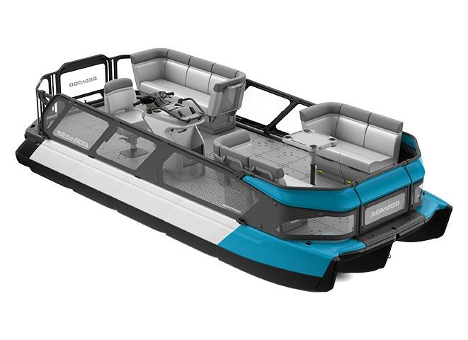 Sea-Doo Switch 19 170 ch Bleu Caraïbes 2022