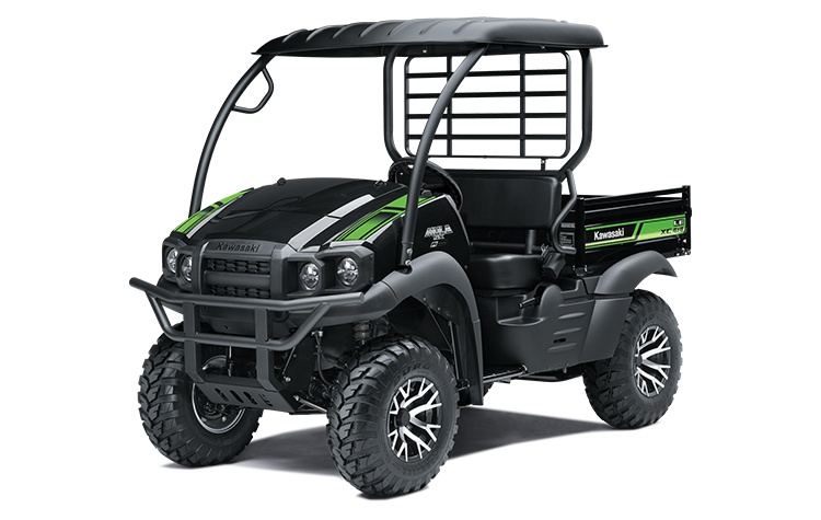 2022 Kawasaki MULE SX 4×4 XC LE FI Metallic Onyx Black