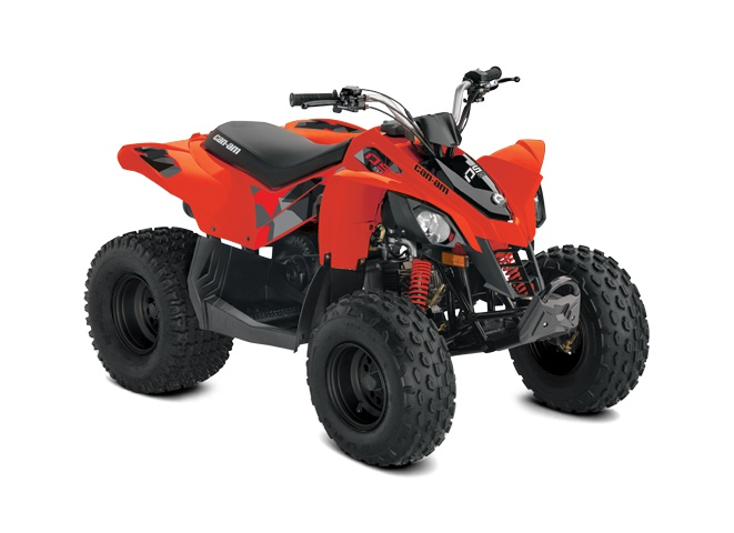 2022 Can-Am DS 90 Can-Am Red