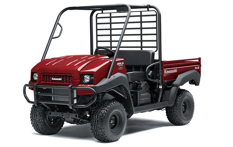 2022 Kawasaki MULE 4010 4x4 Dark Royal Red